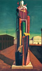 The Great Metaphysician by Giorgio De Chirico