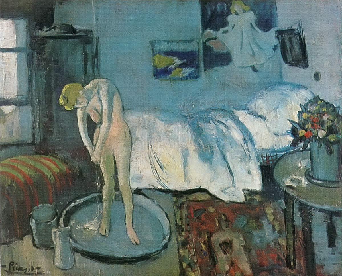 The Blue Room Pablo Picasso