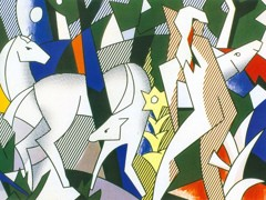 Forest Scene by Roy Lichtenstein
