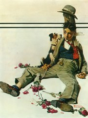In Need Of Sympathy by Norman Rockwell