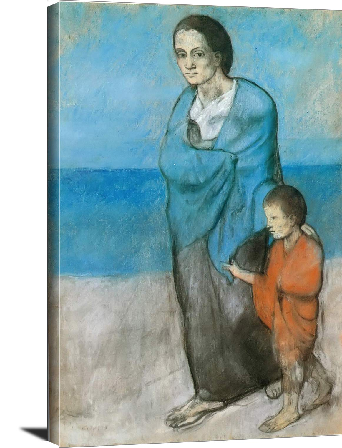 Mother And Children By The Sea Pablo Picasso