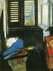 Interior With A Violin by Henri Matisse