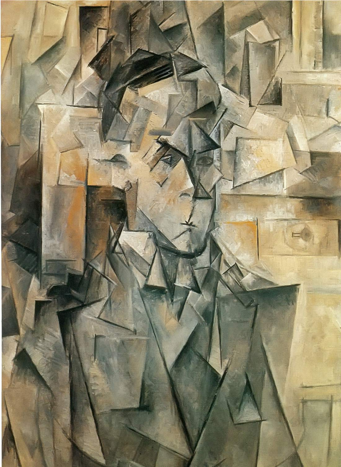 Portrait Of Wilhelm Uhde Pablo Picasso