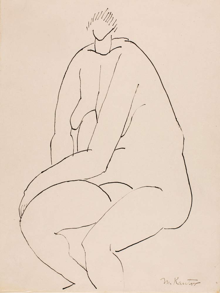 (Untitled  Seated Nude) Morris Kantor