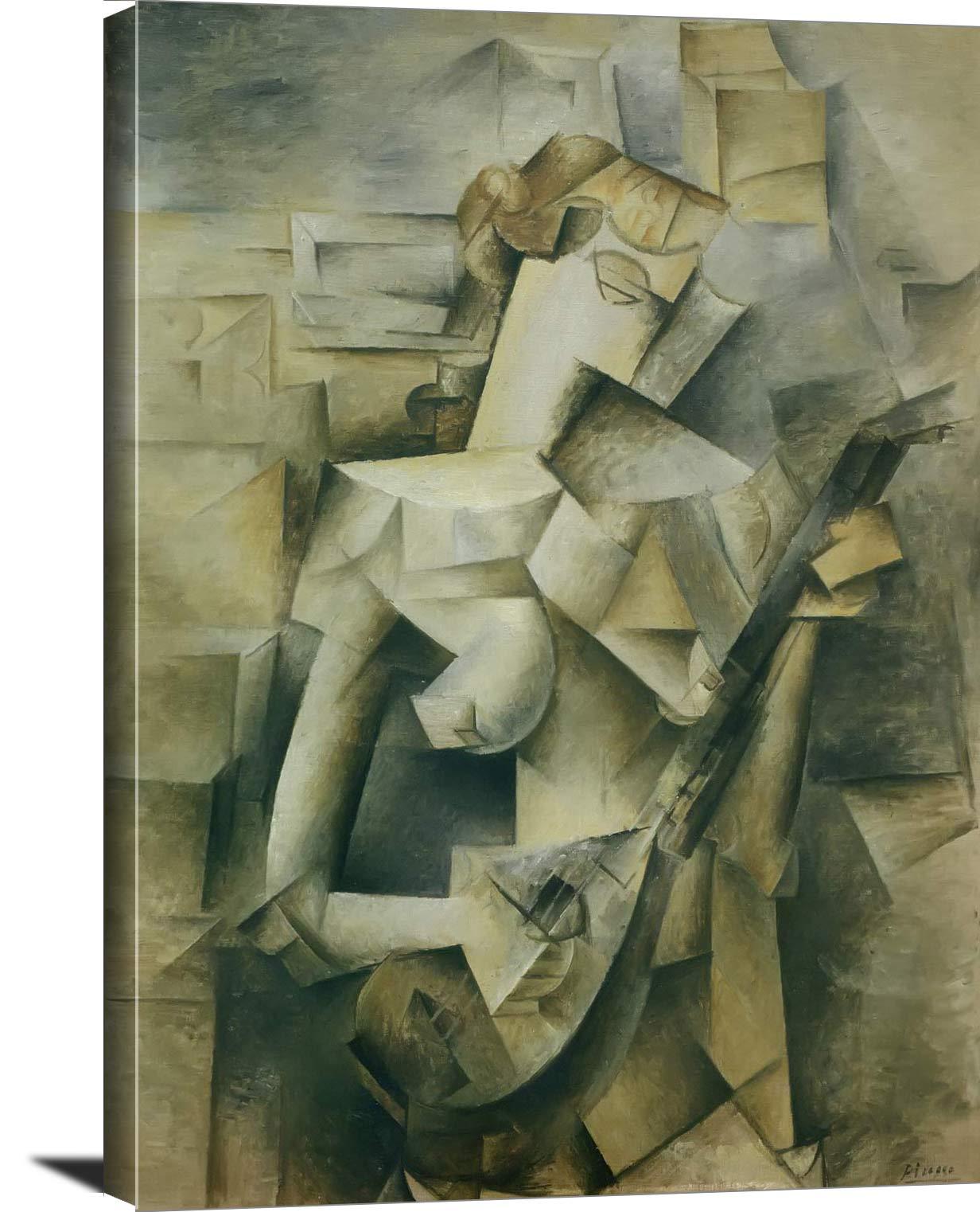 Girl With Mandolin Pablo Picasso
