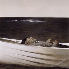 Adrift by Andrew Wyeth