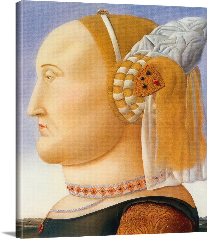 Queen Untitled by Botero