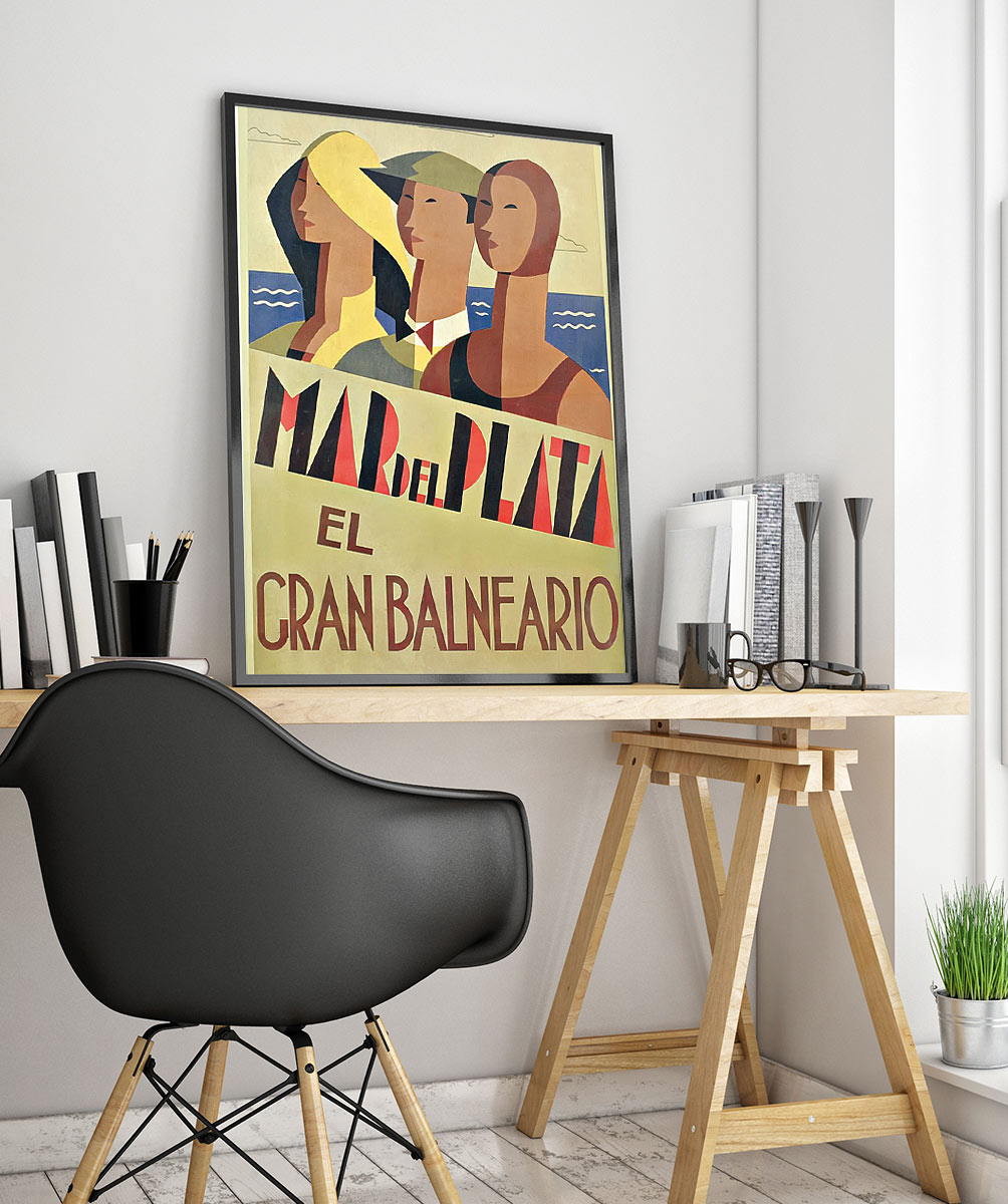 23travel Art Deco Poster