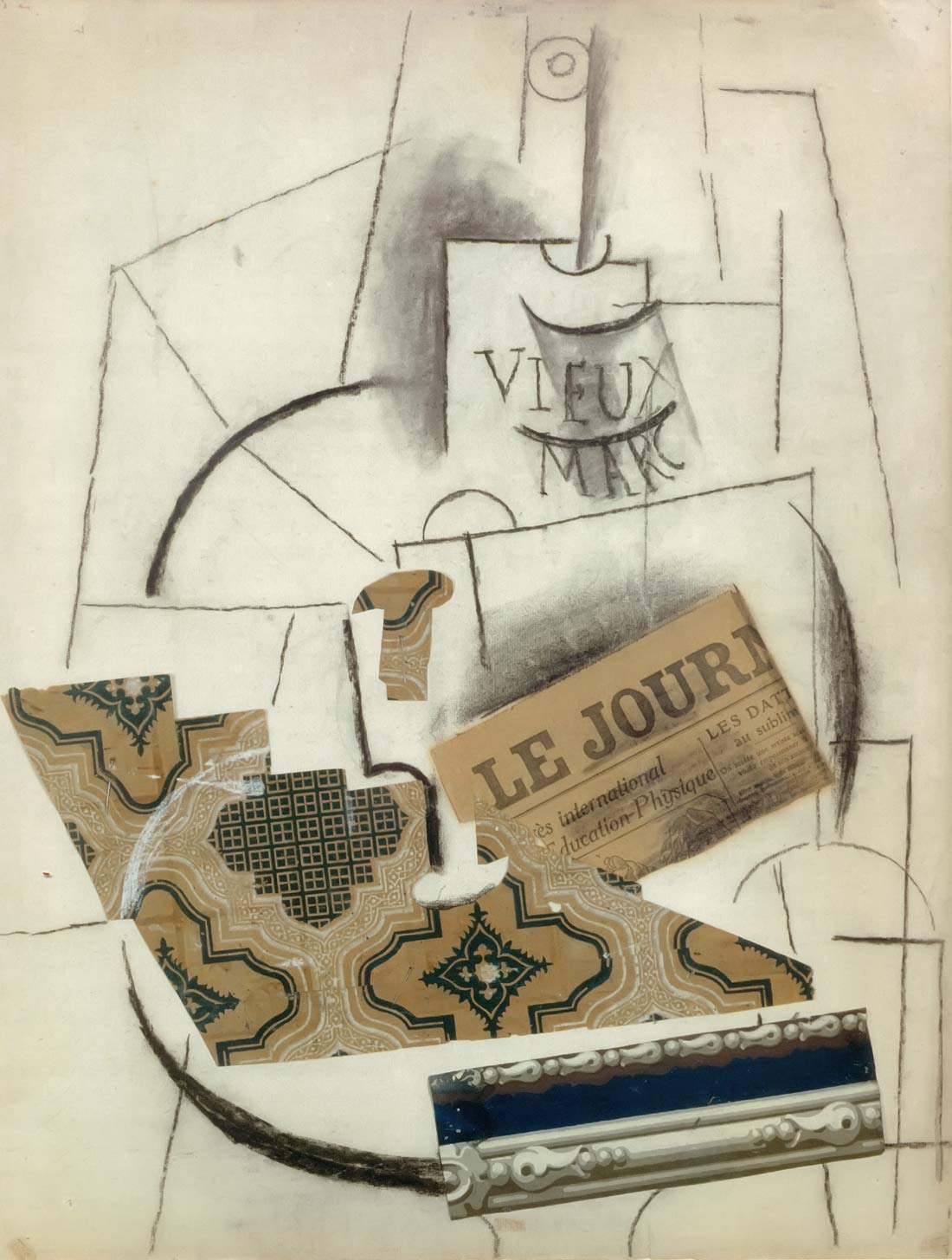The Bottle Of Vieux Marc Pablo Picasso
