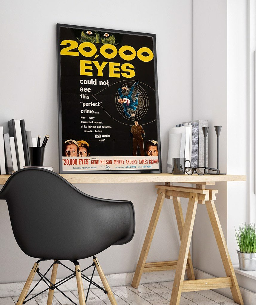 20000 EYES - Vintage Advertisement Poster