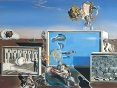 Illumined Pleasures by Dali
