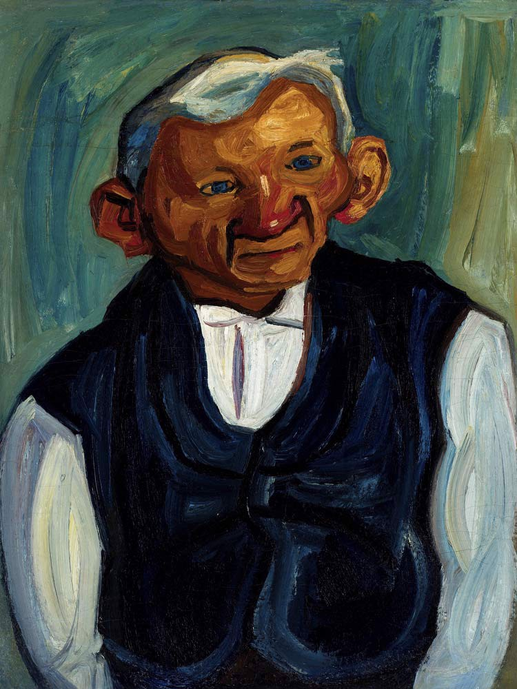 Portrait Of A Man William H Johnson