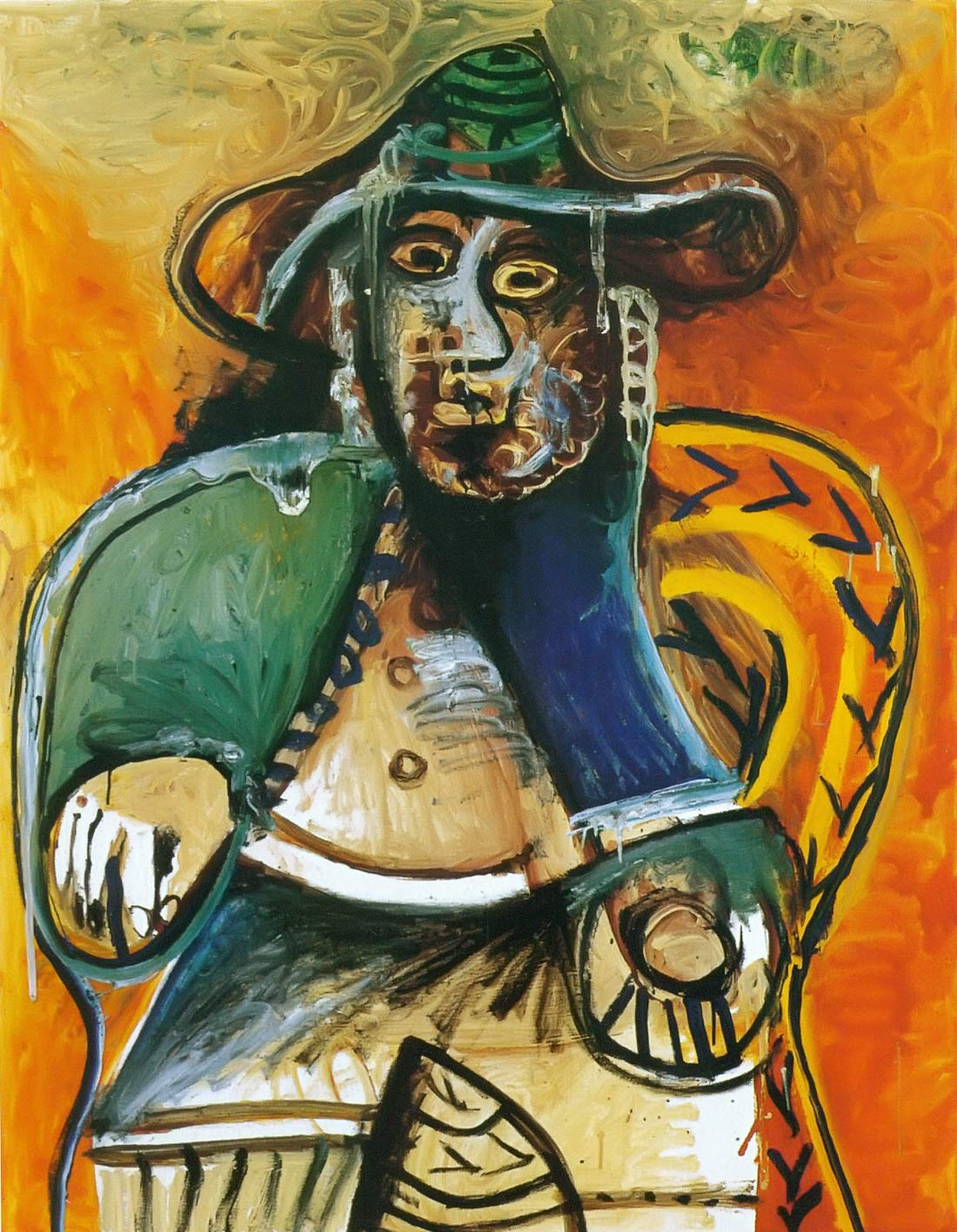 Seated Old Man 191 Pablo Picasso