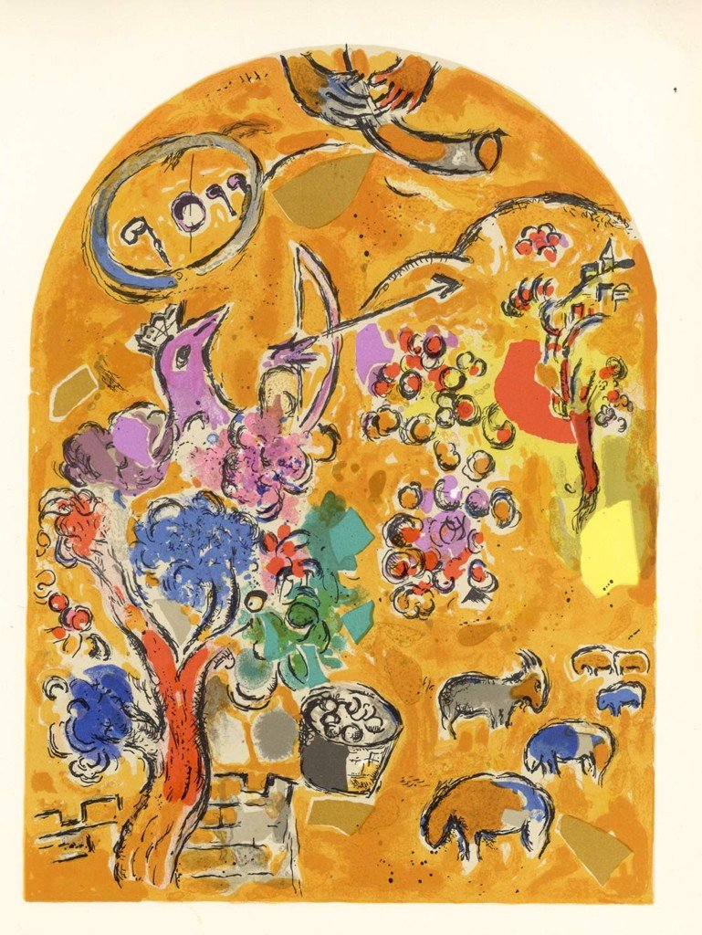 Tribe Of Joseph Marc Chagall