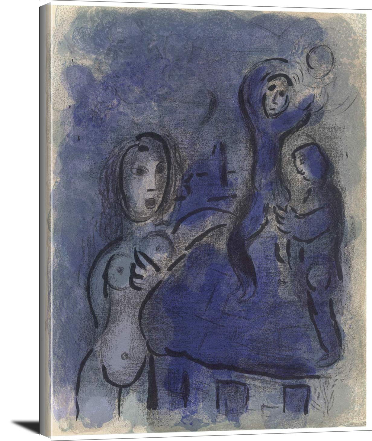 Rahab And The Spies Of Jericho Marc Chagall