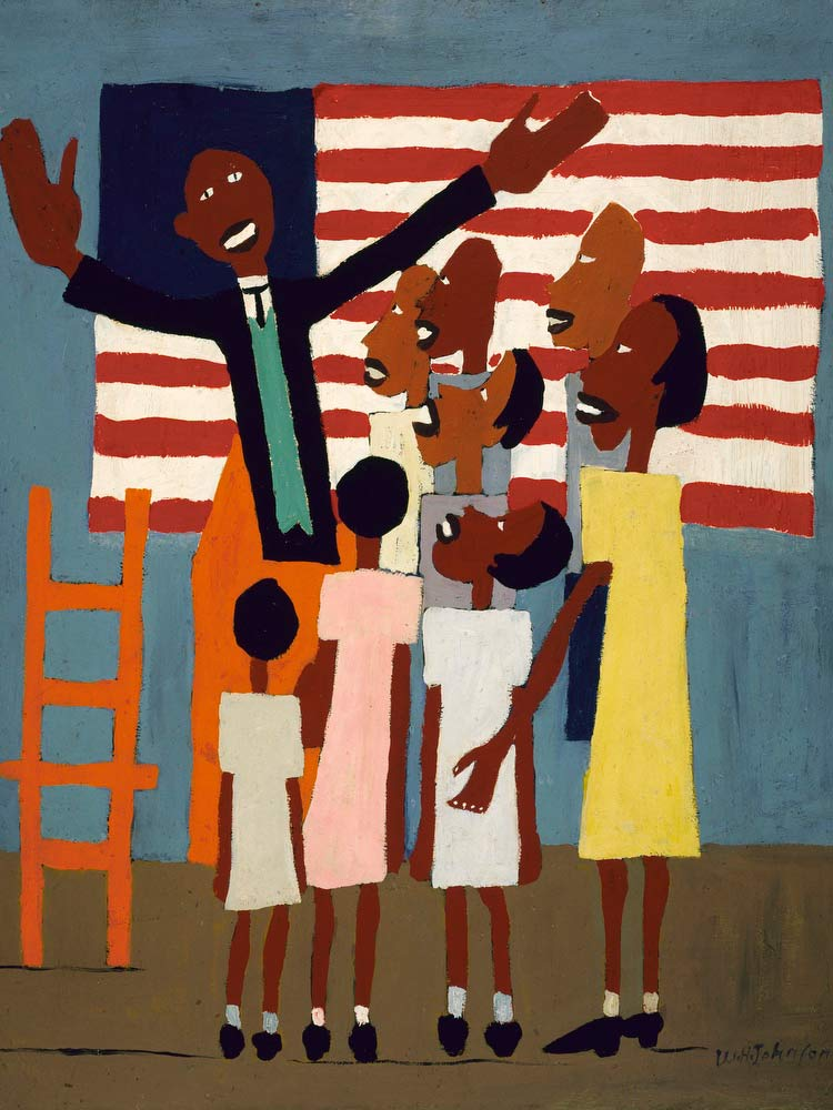 Lift Up Thy Voice And Sing William H Johnson