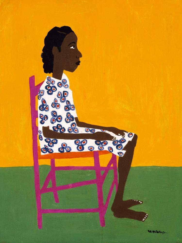 Little Sweet William H Johnson