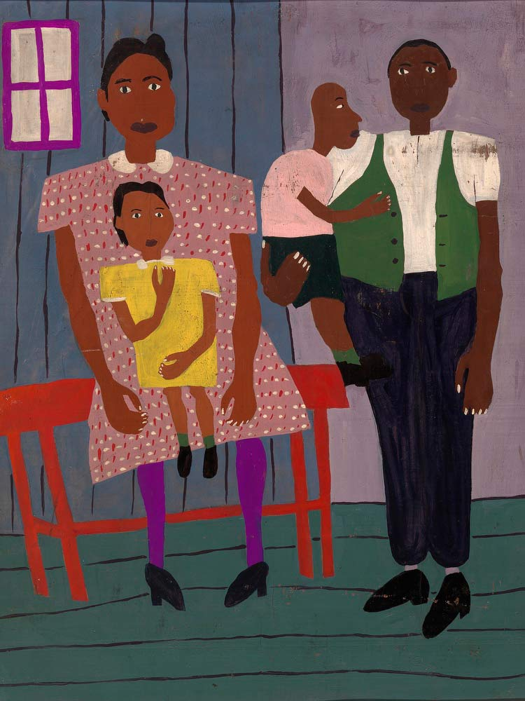 Family Portrait William H Johnson