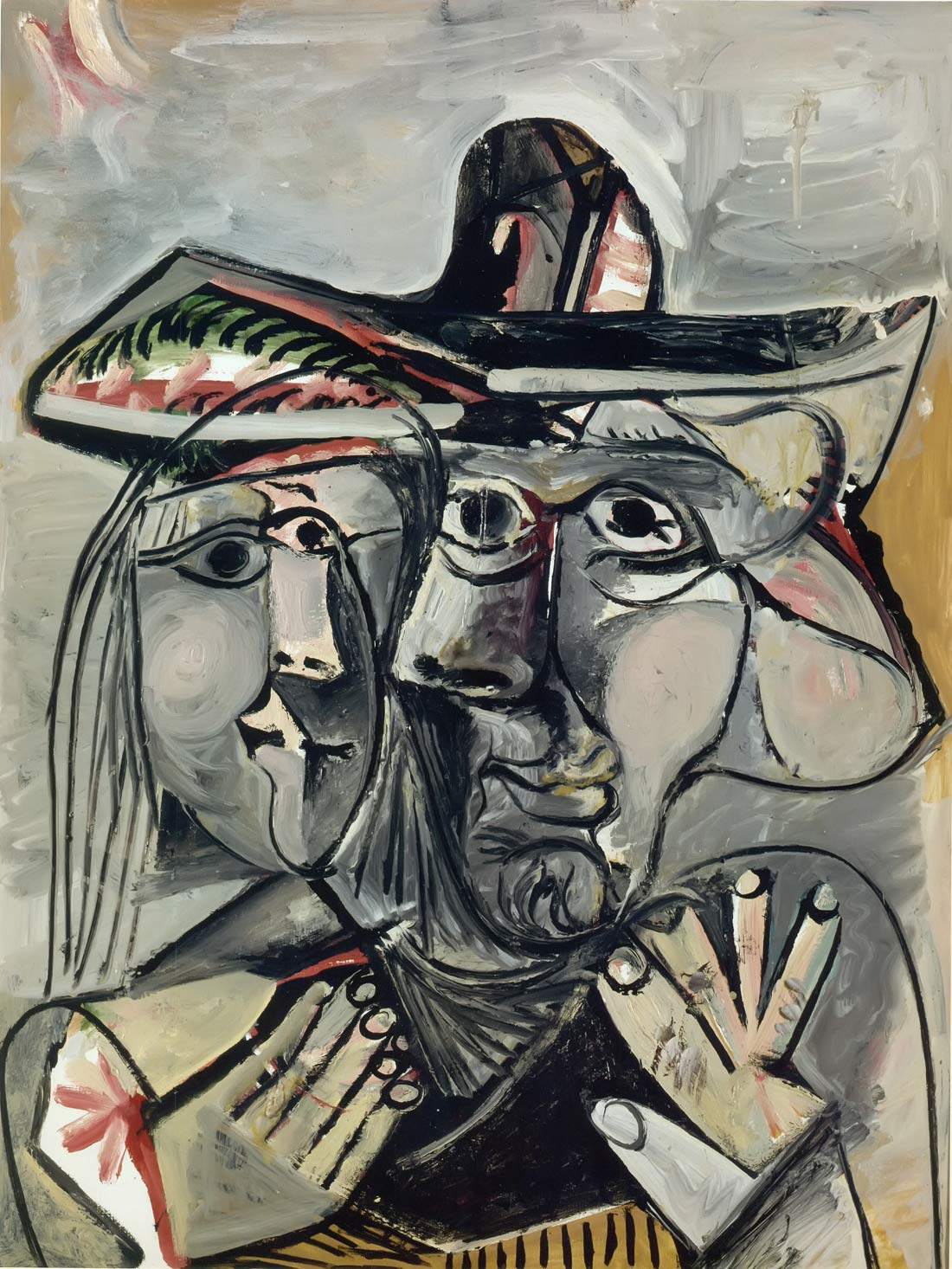 Man And Woman 1971 Pablo Picasso