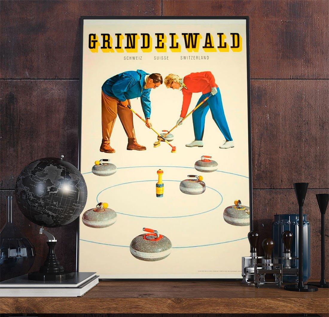 26wpasports Vintage Advertisement Poster