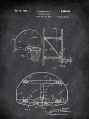 Basketball Goal F Albach Et Al 1941 Activities by Patent