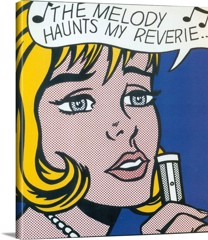 The Melody Haunts My Reverie by Roy Lichtenstein