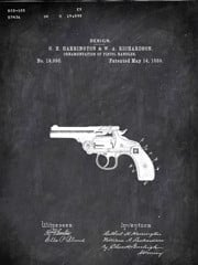 Revolver G H Harrington And W Aichardson Military by Patentb