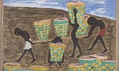 Migration Panel 24 Child Labor And A Lack Of Education Was One Of The Other Reasons For People Wishing To Leave Their Homes by Jacob Lawrence