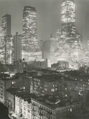 New York Night2 1940s by Bw Photography