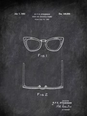 Front For Spectacle Frames F E Stegeman 1952 Activities by Patentb