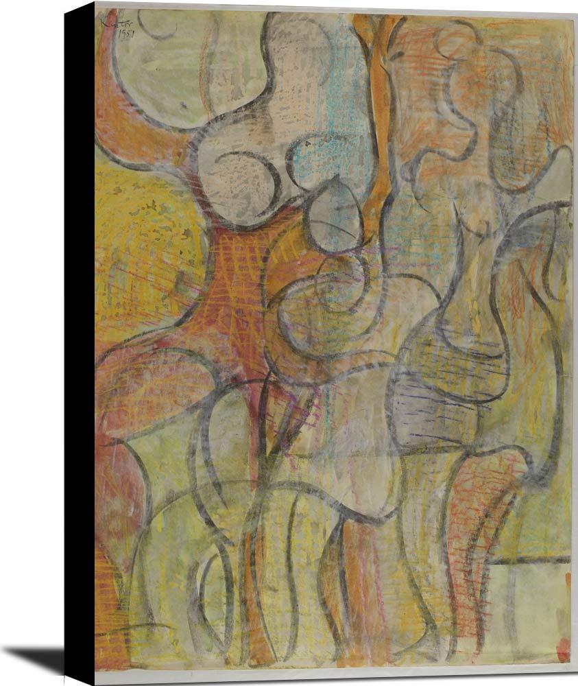 (Untitled  Dancing Female Figures) Morris Kantor
