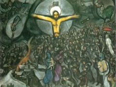 Exodus by Marc Chagall