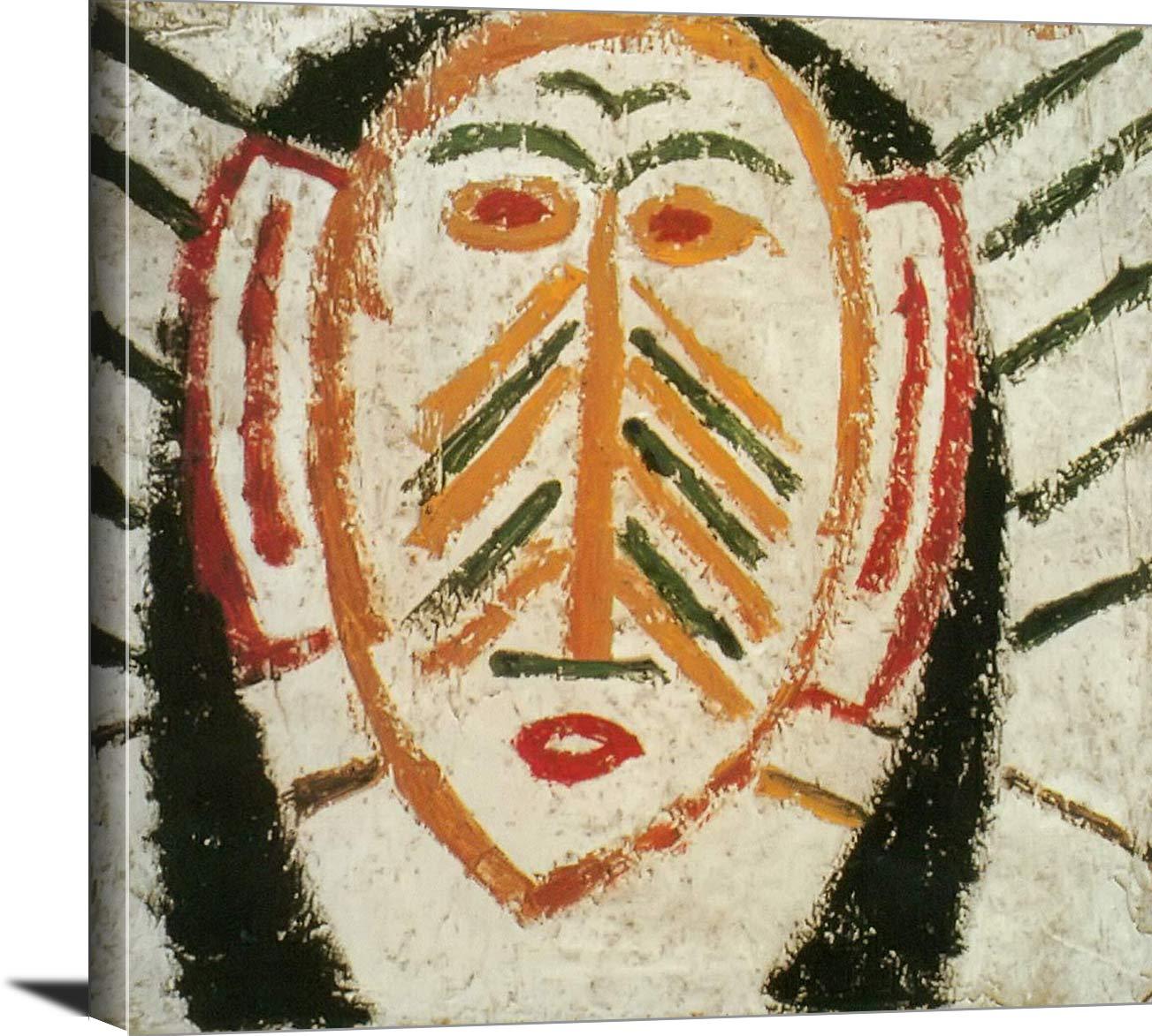 Face 1907 Pablo Picasso