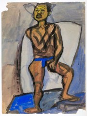 Standing Male Model William H Johnson