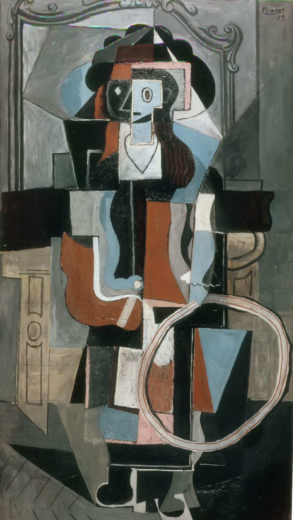 Girl With A Hoop Pablo Picasso