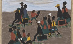 Migration Panel 40 The Migrants Arrived In Great Numbers by Jacob Lawrence