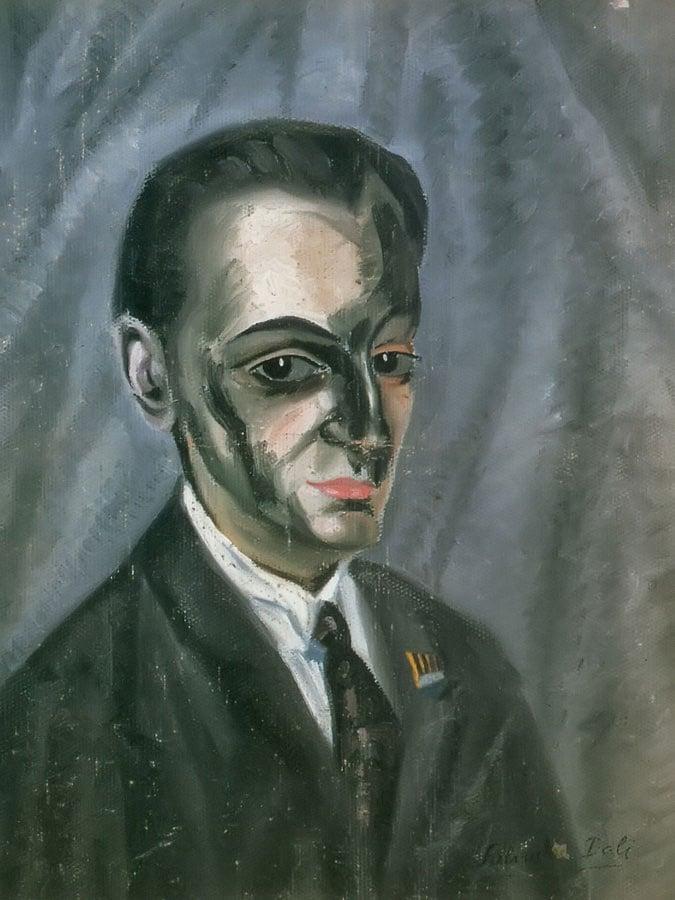 Portrait Of Jose M Torres by Dali