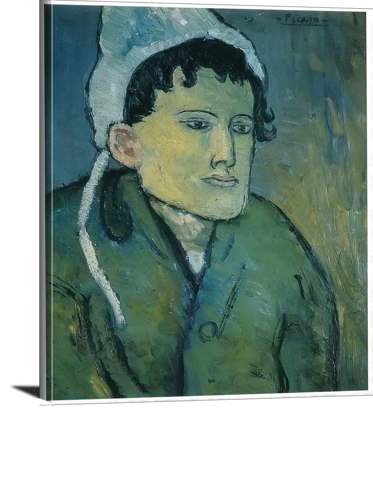 Woman. In A Bonnet Pablo Picasso
