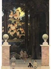 The Sugar Plum Tree by Maxfield Parrish