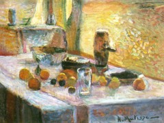 First Orange Still Life by Henri Matisse