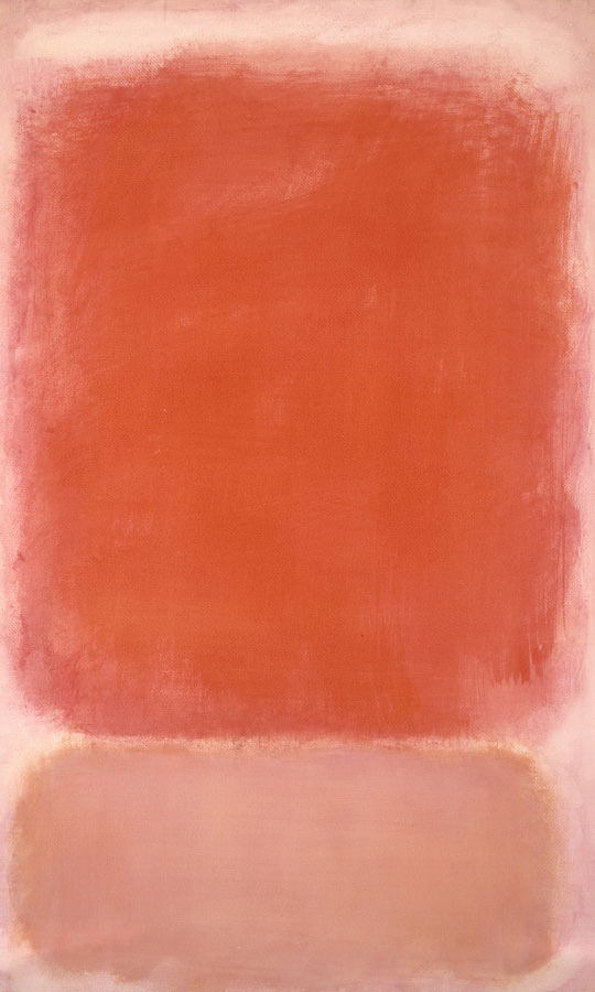 Red And Pink On Pink by Mark Rothko