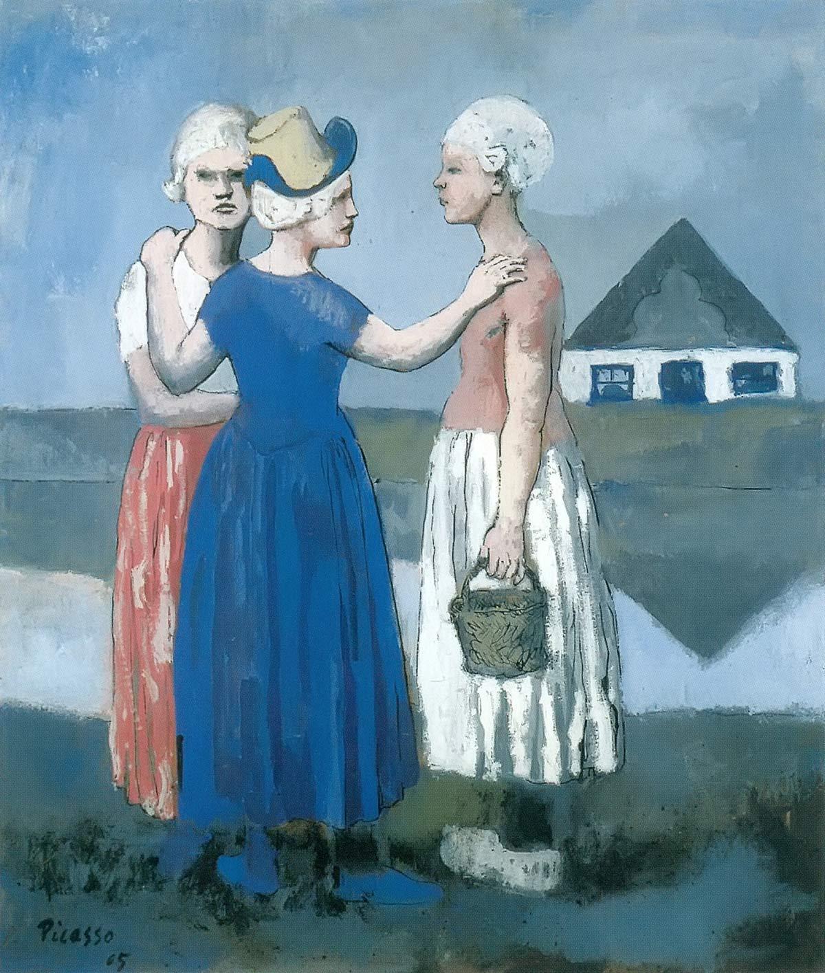 Three Dutch Women Pablo Picasso