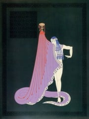 The Slave by Erte
