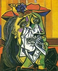 Woman In Tears 1937 Pablo Picasso