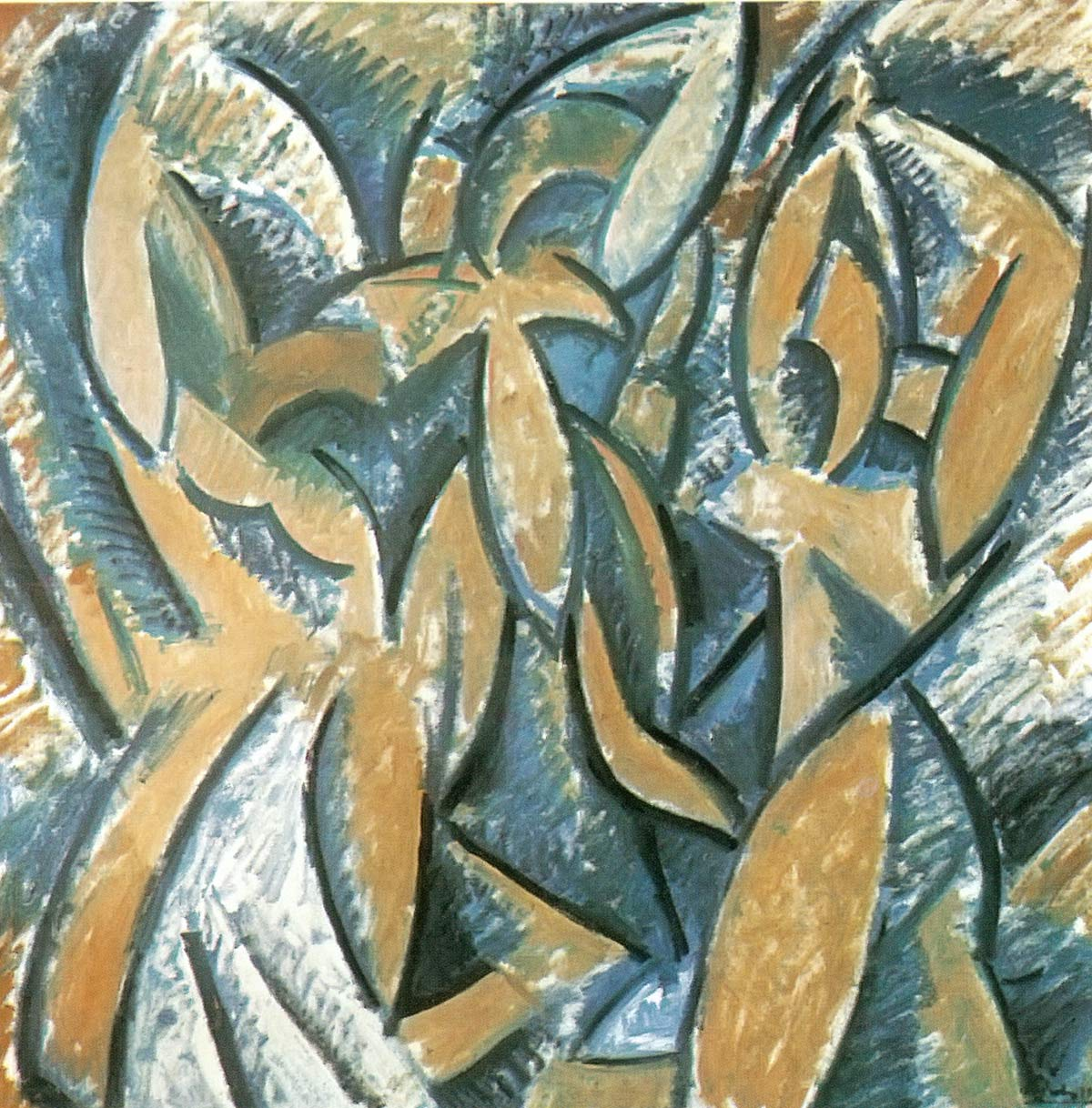 Three Women Rhythmic Version Pablo Picasso