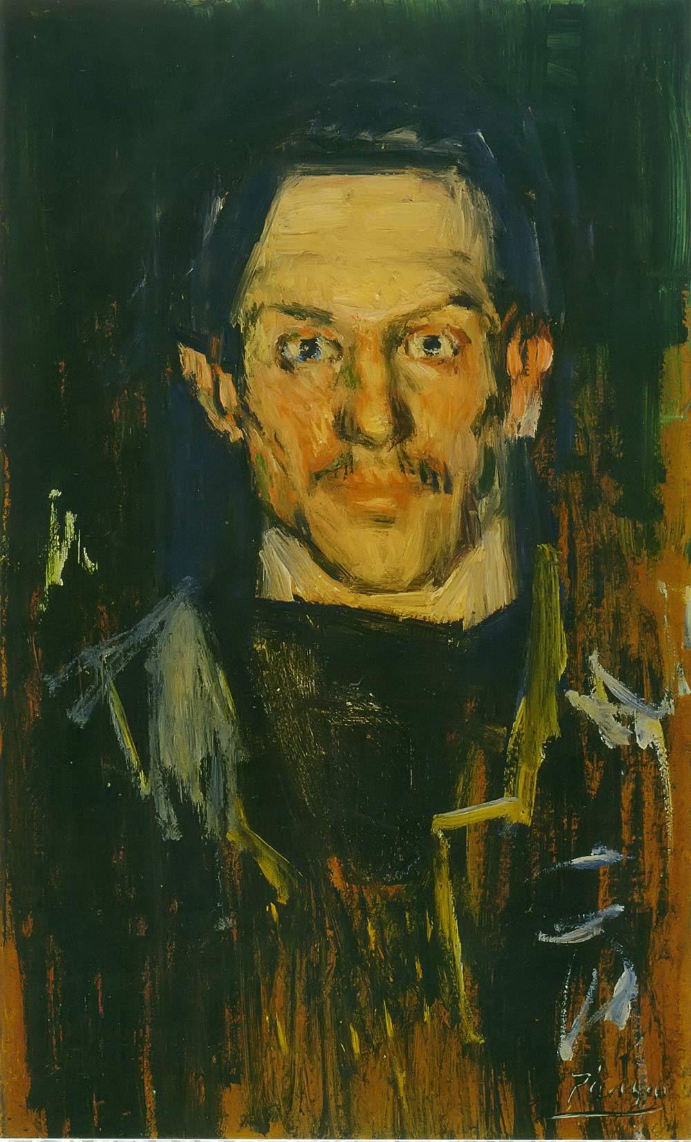 Self Portrait Yo Pablo Picasso