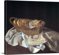 The Basket Of Bread by Dali