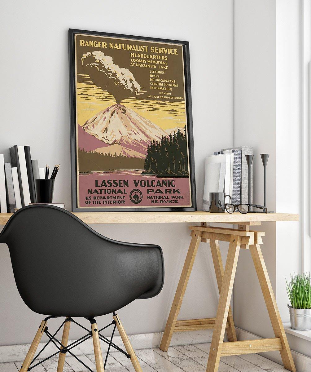 23wpatravelb Vintage Advertisement Poster