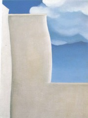 A Fragment Of The Ranchos De Tao Church by Georgia O Keeffe
