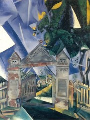 Cemetery Gates by Marc Chagall